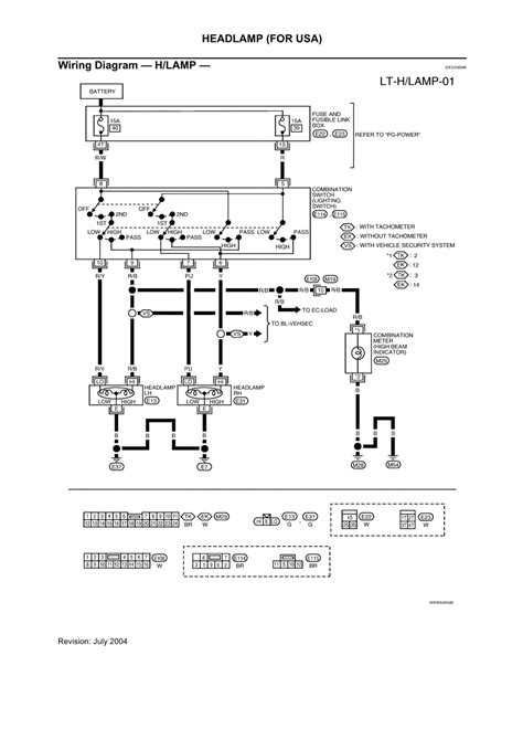 04 Nissan Sentra Wiring Diagram by Repair Guides