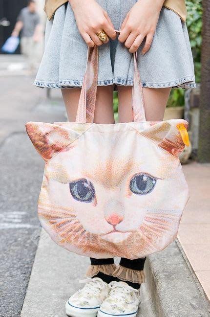 Japanese Fashion Tumblr Teehee Cat Bag My Style