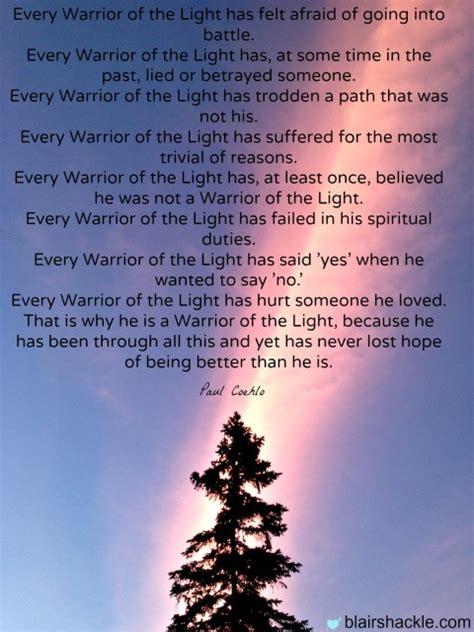 warrior of the light spiritual warrior quotes quotesgram