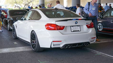 bmw m4 performance bmw m4 with m performance parts from 2014 sema new photos