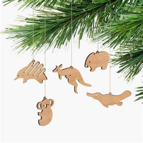 australian animal ornaments box set diy gifts child