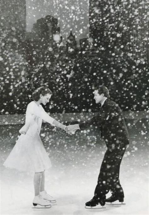 ice skating   falling snow figure skating