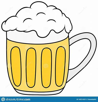 Clipart Beer Bier Glas Glass Birra Vektor