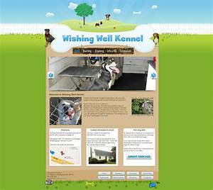 Dog kennel website updated by ntoupin on deviantart for Dog boarding website