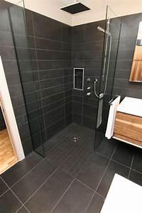 Niche De Douche : douche plain pied ouverte c ramiques hugo sanchez inc ~ Premium-room.com Idées de Décoration
