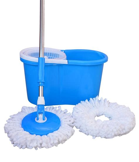 mop cleaner easy mop 360 degree spin magic with plasticbucket best quality with beautiful co ebay