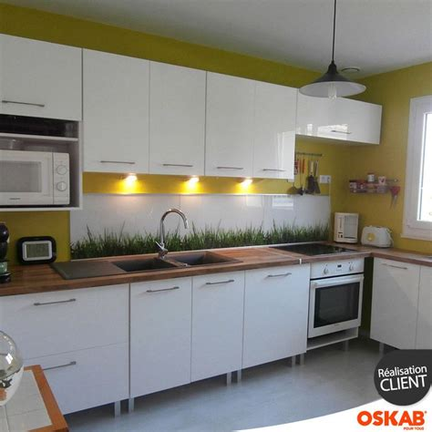 fa軋des meubles cuisine meuble haut de cuisine castorama 3 cuisine blanche moderne fa231ade stecia blanc