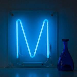 Neon luminous letter light by write in lights for Neon letter lights