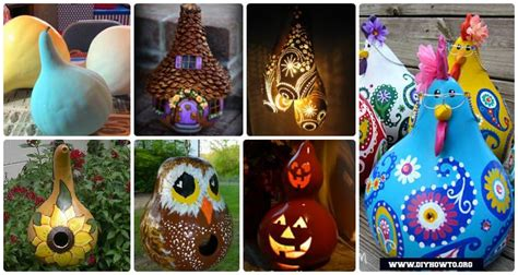 diy gourd craft projects     thinking