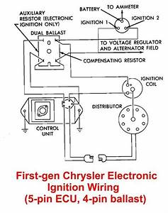 Early Chrysler Electronic Ignition System Wiring Diagram Tachometer For A.  chrysler 360 ignition timing setting. msd 5520 street fire ignition control  installation user. electronic ignition troubles no spark on a 440. yamaha2002-acura-tl-radio.info