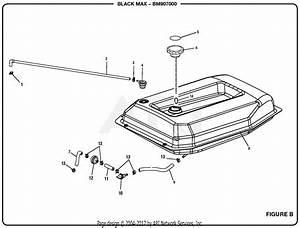 Homelite Bm907000 7000 Watt Generator  Om 990000507  Parts Diagram For Figure B