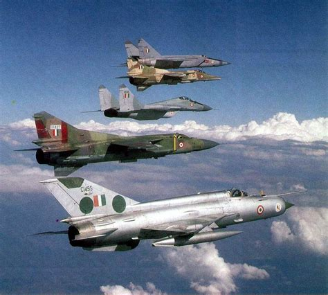 The Mig Family! Indian Air Force Mig-25, Mig-27, Mig-29