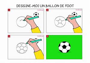 Petit But De Foot : apprendre dessiner un ballon de foot en 3 tapes ~ Melissatoandfro.com Idées de Décoration