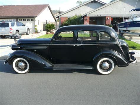 1936 Dodge Sedan by 1936 Dodge D2 Touring Sedan 4 Door California Car