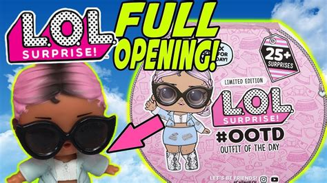 lol surprise ootd advent calendar ultra rare lol doll