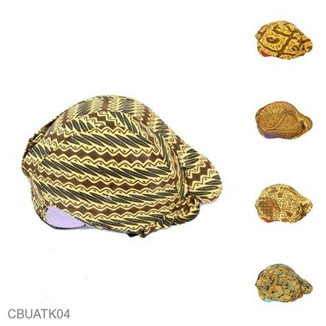 Kalung Batik Sekar We02 blangkon batik mataram motif sekar jagad sorjan