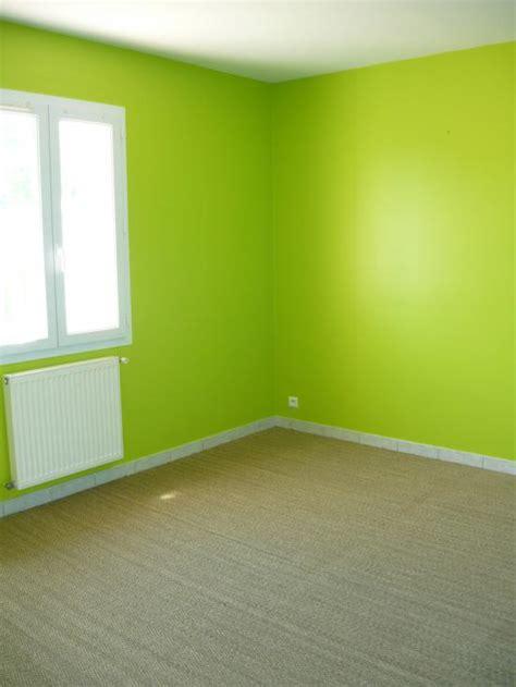 peinture verte chambre peinture et sols intérieur chambres orange