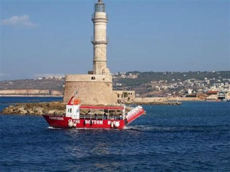 Glass Bottom Boat Chania by Chania Boat Trip Chania Cruises Chania Glass Bottom Boat