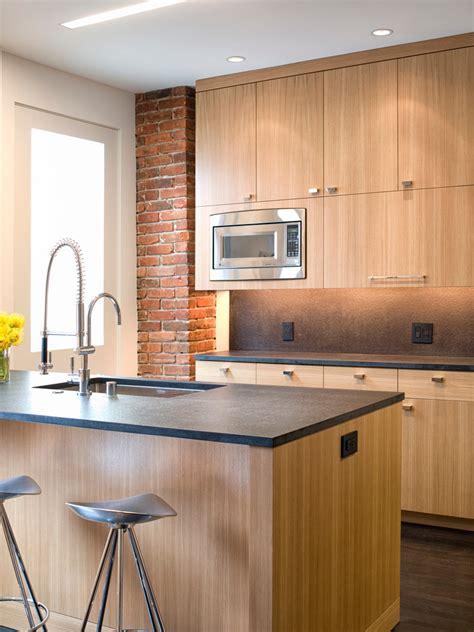 resurfacing kitchen cabinets kitchen modern with brick