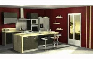 Decoration de cuisine moderne youtube for Cuisine decoration moderne