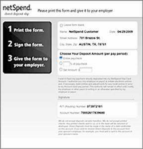 new form for direct deposit social security form With documents of netspend