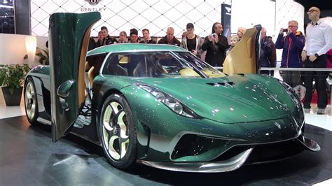 World's First Customer Regera! (green Carbon Koenigsegg