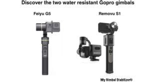 evo gp pro gopro gimbal simple  efficient
