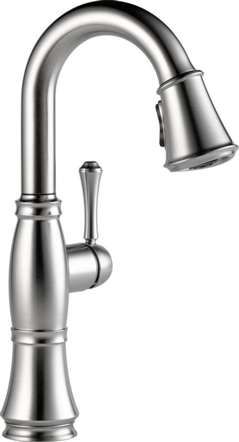 amazon delta kitchen faucets delta faucet 9997 rb dst cassidy single handle bar prep