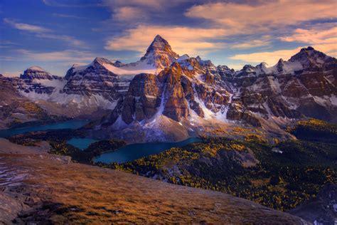 Mount Assiniboine In British Columbia, Canada Full Hd
