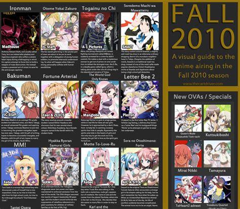 anime fall 2017 list indo upcomng anime list fall 2010 atma xplorer