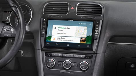 golf 6 navi 9 mobile media system for volkswagen golf 6 featuring apple carplay and android auto