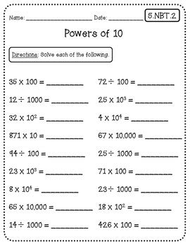 math quick checks 5th grade math in the classroom