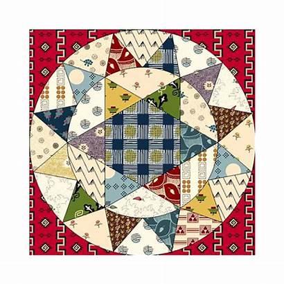 Circles Karen Quilt Crazy Class Devon Paperpieces