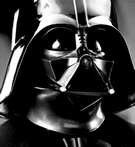 Darth Vader Animated Wallpaper - black and white darth vader