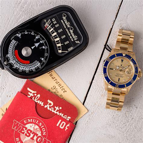 Rolex Serti Submariner 16618 Yellow Gold Oyster