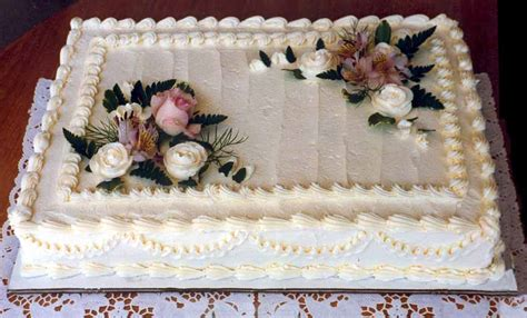 sheet cakes wedding sheet cakes decorated with flowers and decor love