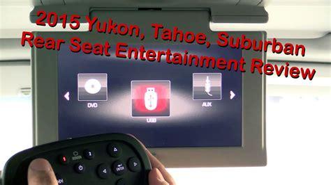 gmc yukon chevy tahoe suburban rear seat