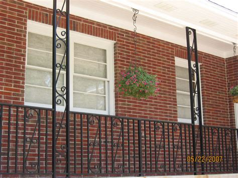 decorative metal porch columns pictures to pin on