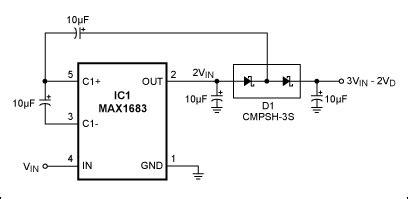 Tripler Converts Power Supply Circuit