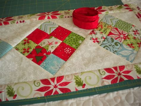 simple table runner patterns simple 9 patch table runner parade a quilting life a