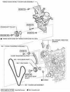 1 Gr 2007 Toyota Hilux 4 0 V6 Timing Chain Settings