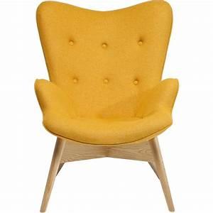 Petit Fauteuil Jaune : fauteuil scandinave jaune angels wings eco kare design ~ Teatrodelosmanantiales.com Idées de Décoration