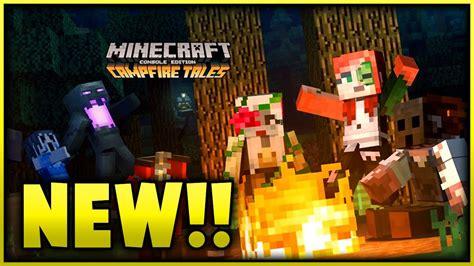 minecraft halloween campfire tales skin pack