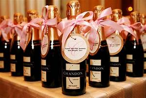 wedding ideas the miami girl39s guide to wedding planning With champagne bottles for wedding favors