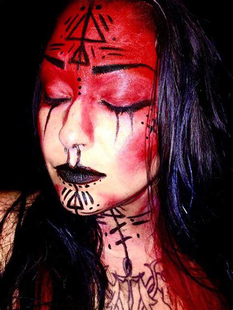 scary witch halloween makeup ideas   idea halloween