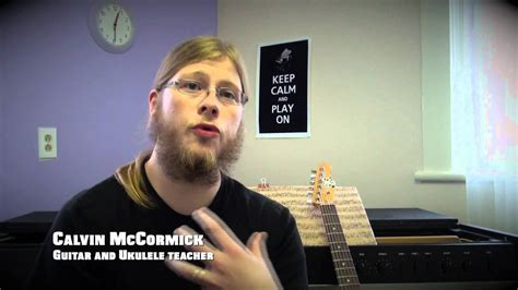 Experienced ukelele teacher of 10 years available for eager students of all experience levels and ages! Calvin McCormick - Guitar and Ukulele teacher - Nicole C Bowers Music Studio - YouTube