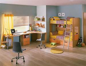 Kids Room with Study Table - StyleHomes net