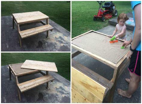kids pallet sandbox picnic table  pallets