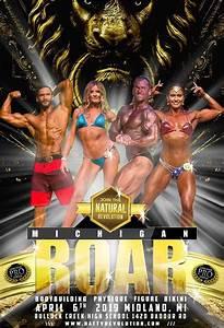 2019 Michigan Roar Natural Bodybuilding Classic