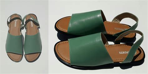 Sandal Karet Docmart Silver vielin creation cascute shoes handmade